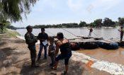 Policía Naval frena  paso de migrantes y contrabando en la Frontera Sur