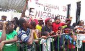 Africanos protestan y denuncian burocrátismo y maltrato en México