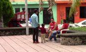Hondureños burlan cerco migratorio y arriban a Tapachula