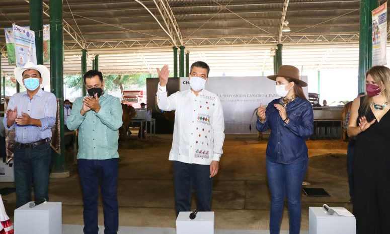 "Inauguran ""Exposición Ganadera Tapachula 2021"""