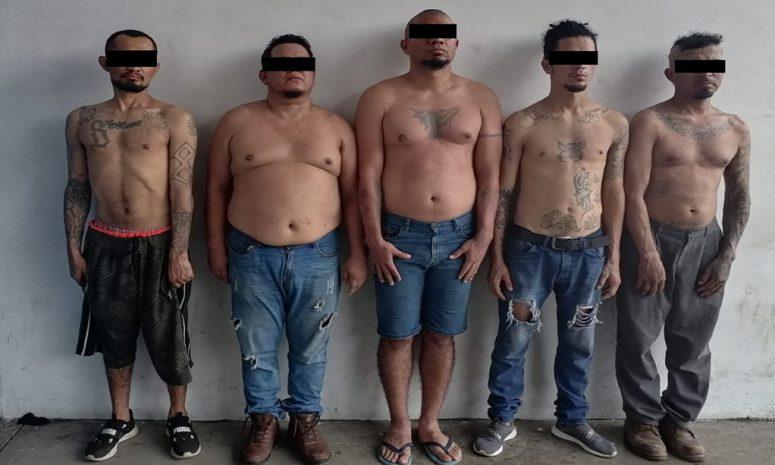 Policía de Tapachula detiene a integrantes de Barrio 18 por narcomenudeo
